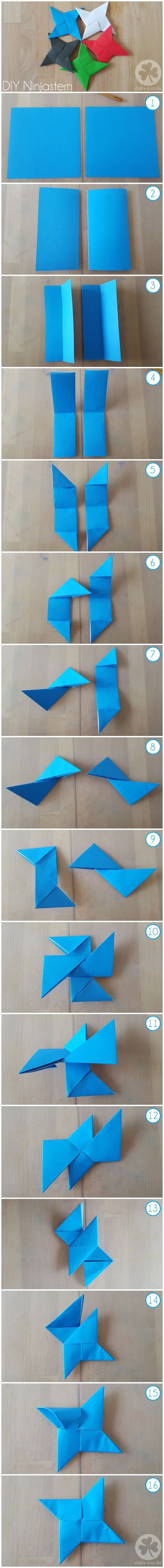 Origami Ninja Stars from Wonder Kids