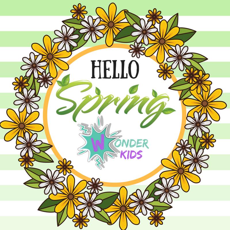 Hello Spring on Wonder Kids