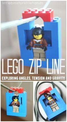 Lego Zip Line from Wonder Kids