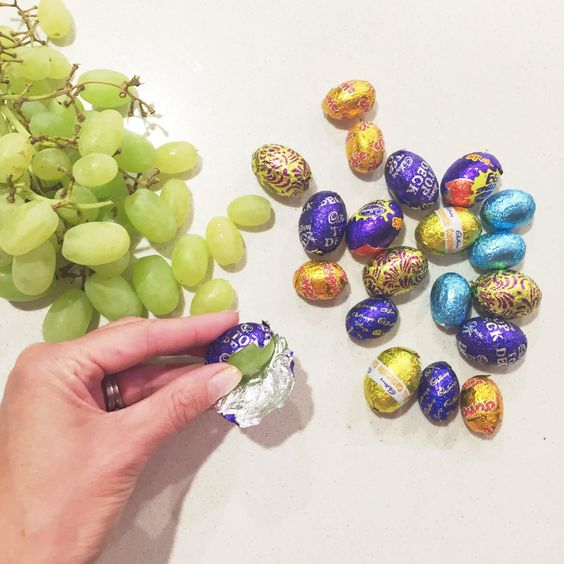April fools Day Chocolate Grapes from Wonder Kids