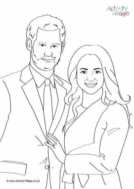Royal Wedding Colouring Wonder Kids 2