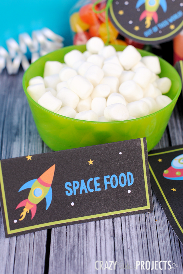 Space Food Tents