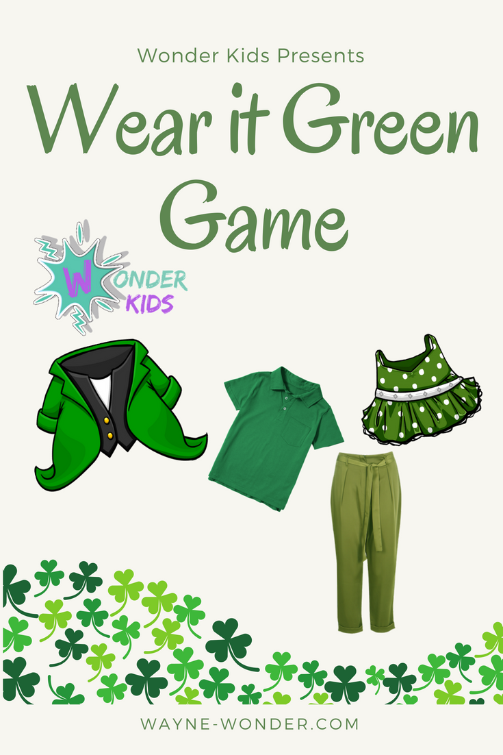 Wonder Kids Wear it Green Game