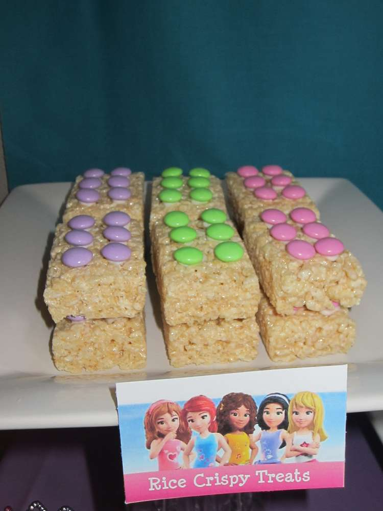 Lego Rice Krispy Treats
