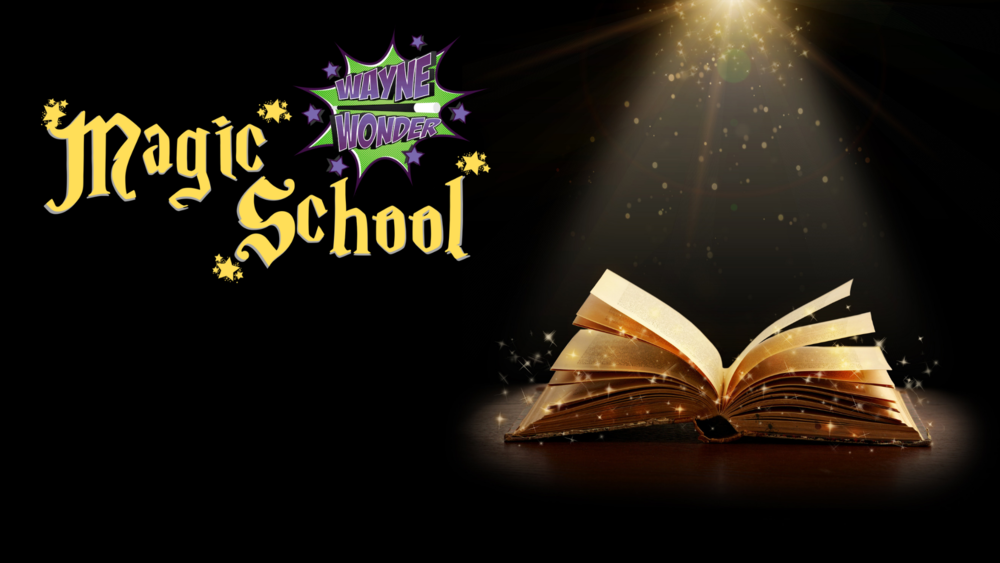 Learn Magic - Free with every booking, each child will get full access to Wayne Wonder's online magic school so they can continue to learn more great magic