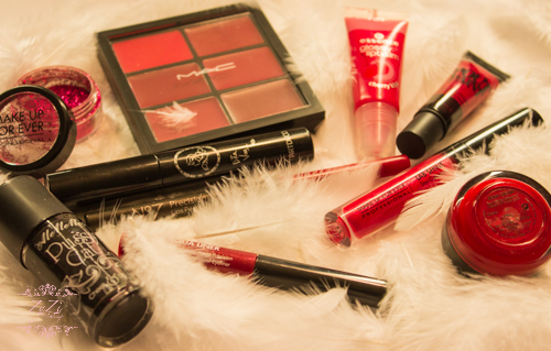Valentine S Day Red Alert Selection Of 10 Makeup Products Zydre