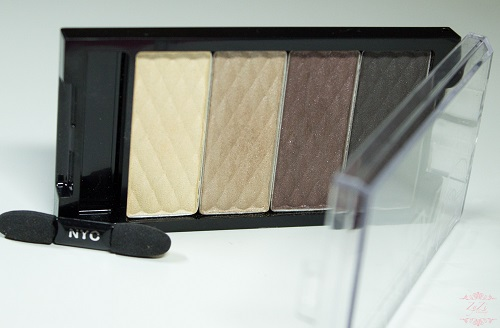 NYC 'HD color' quattro eye shadow #815 Best of broadway £2,99