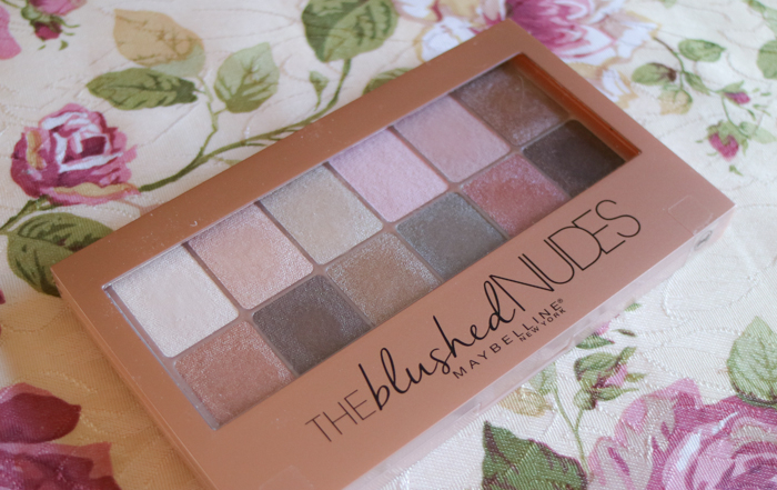 Maybelline 'The blushed nudes' eyeshadow palette