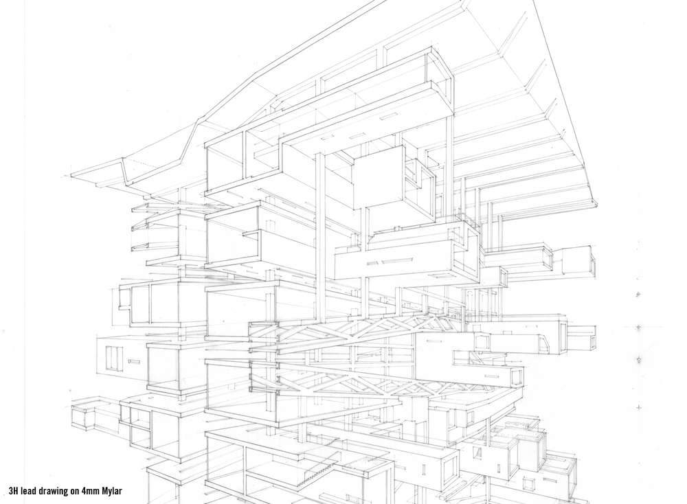 Line Drawing Architecture : Over drawing — ltl architects
