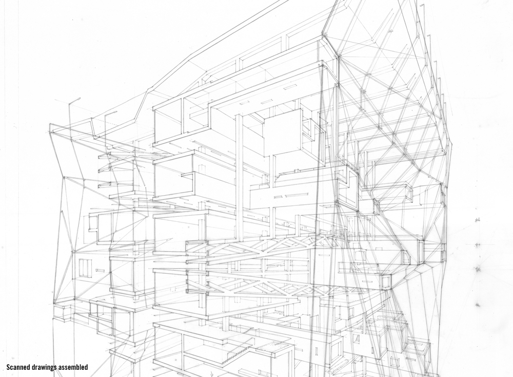 Line Art Architecture : Over drawing — ltl architects