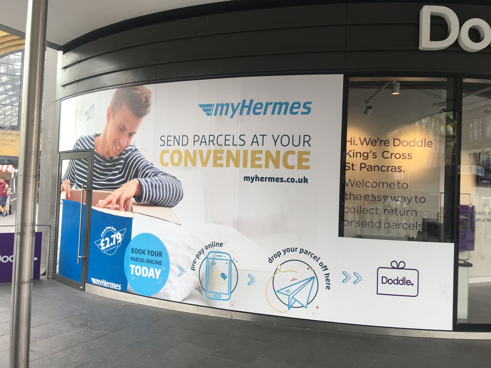 Larger format campaign in Kings Cross London