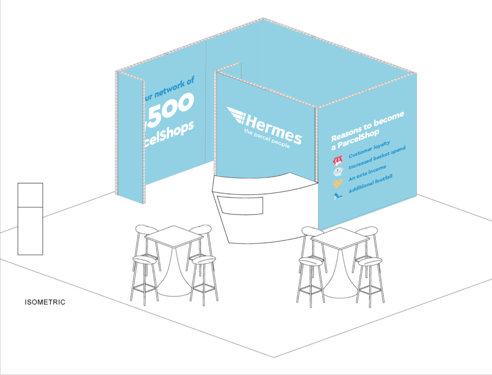 Example of event stand designs  - EXPO Birmingham 2018