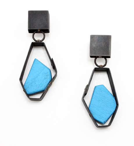 Box Dangles with Blue Float