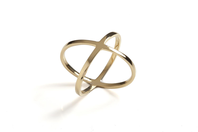 Aura midi ring Gold — CF Concept
