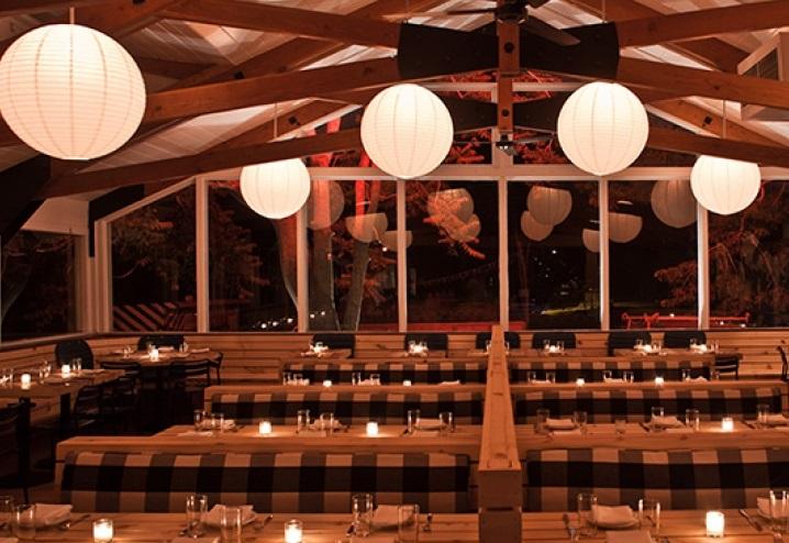 From Ruschmeyer's website, the indoor restaurant