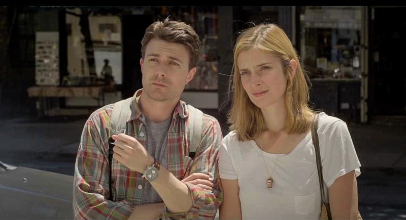 Noah Bean and Caitlin Fitzgerald