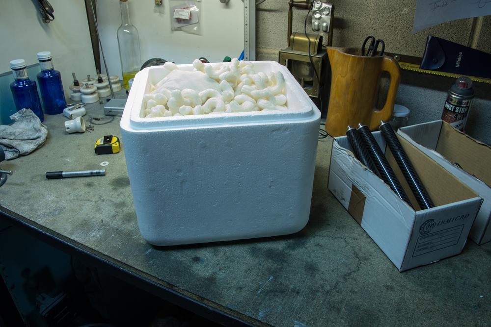 Individual  polystyrene hard case