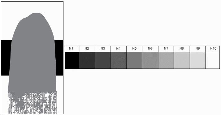 Paint sample - N5 neutral gray