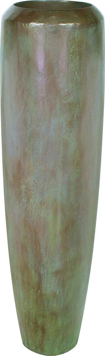 Loft Planter - Aluminium, Shiny & Matt Black, Bronze