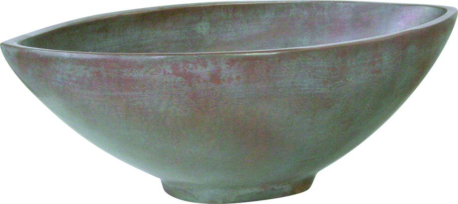 Loft bowl - Aluminium, Shiny & Matt Black, Bronze