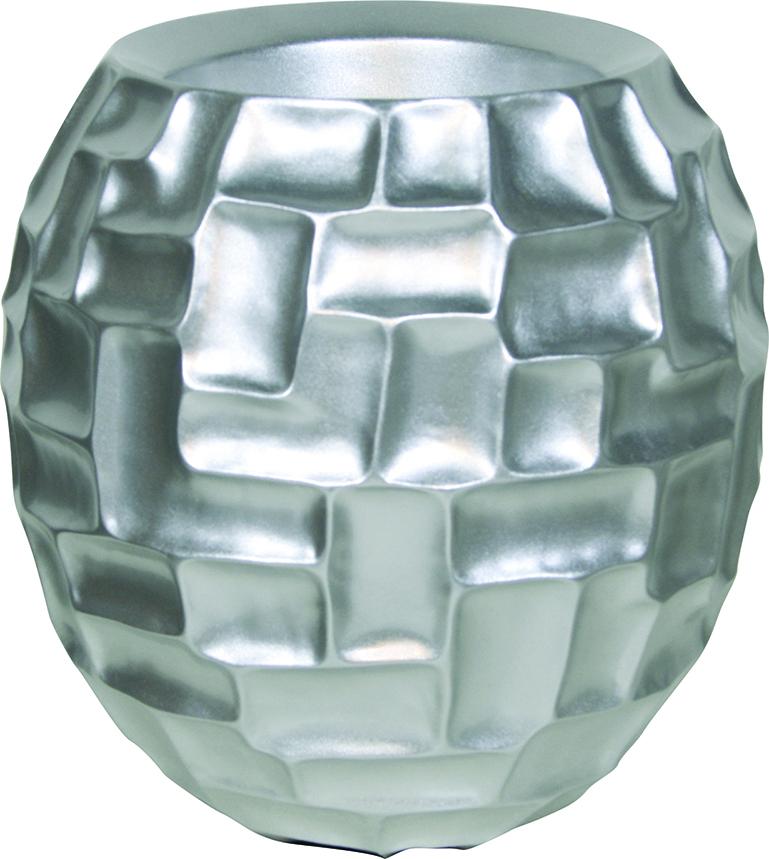 Silver mosaic ball