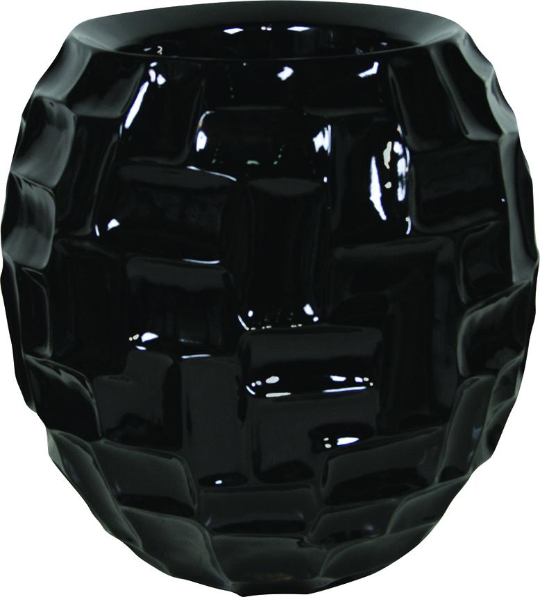 Black mosaic ball