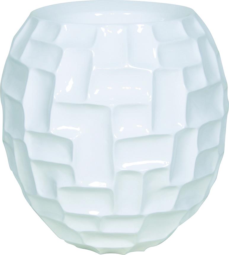 White mosaic ball