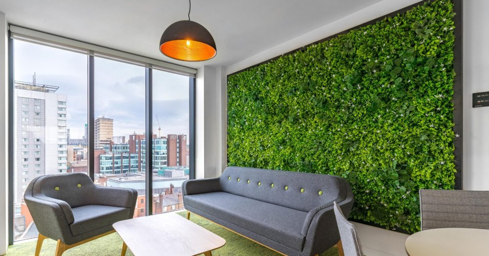 Office relaxation walls