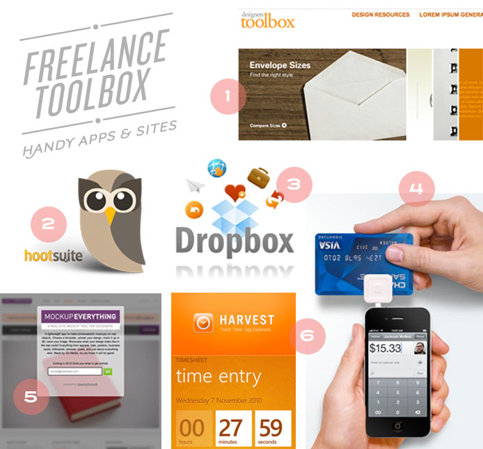 Freelance Toolbox: Handyt Apps and Sites