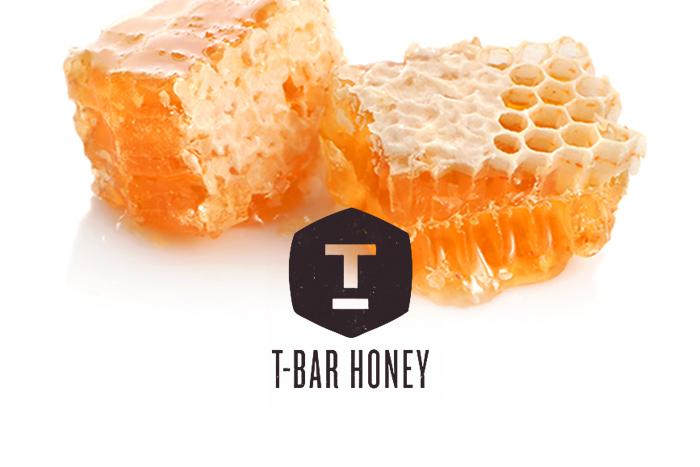 bar honey logo alisa bobzien wedding