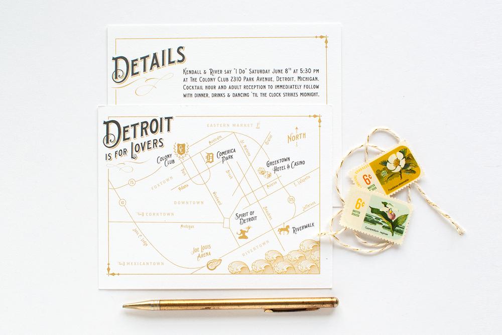 Vintage_Type_Gold_Glam_Wedding_Map_Detroit