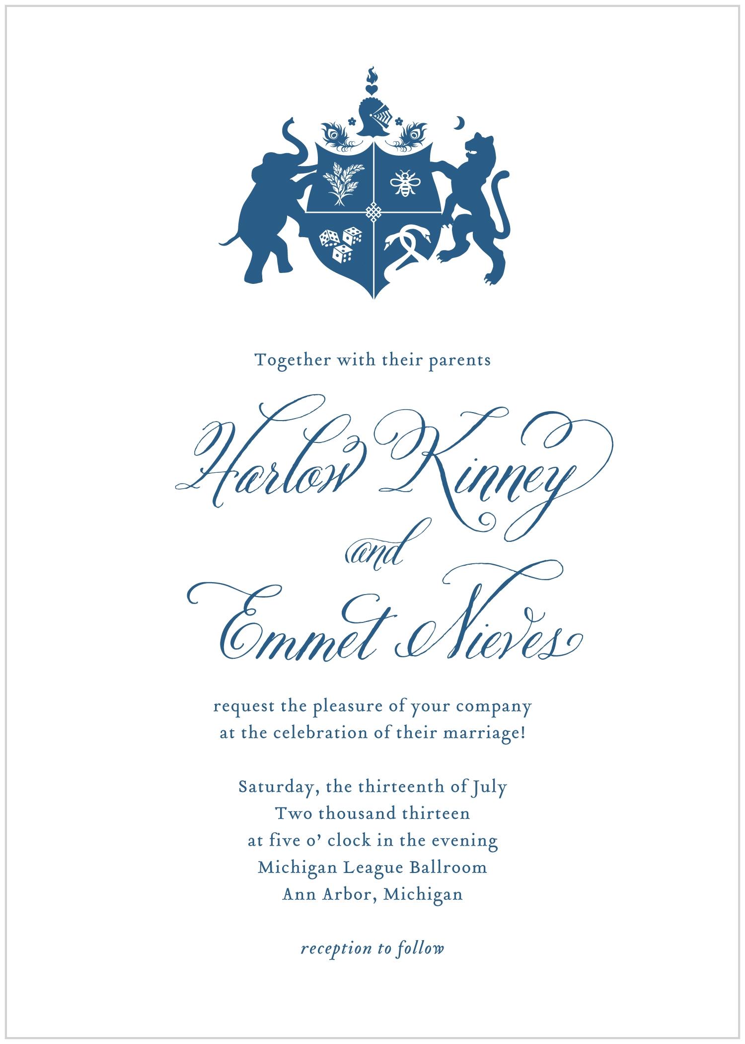 Coat of Arms Samples — Alisa Bobzien Wedding