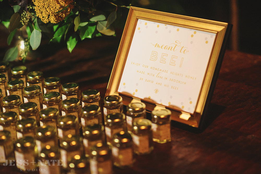 wedding_favor_sign_honey_gold_coral