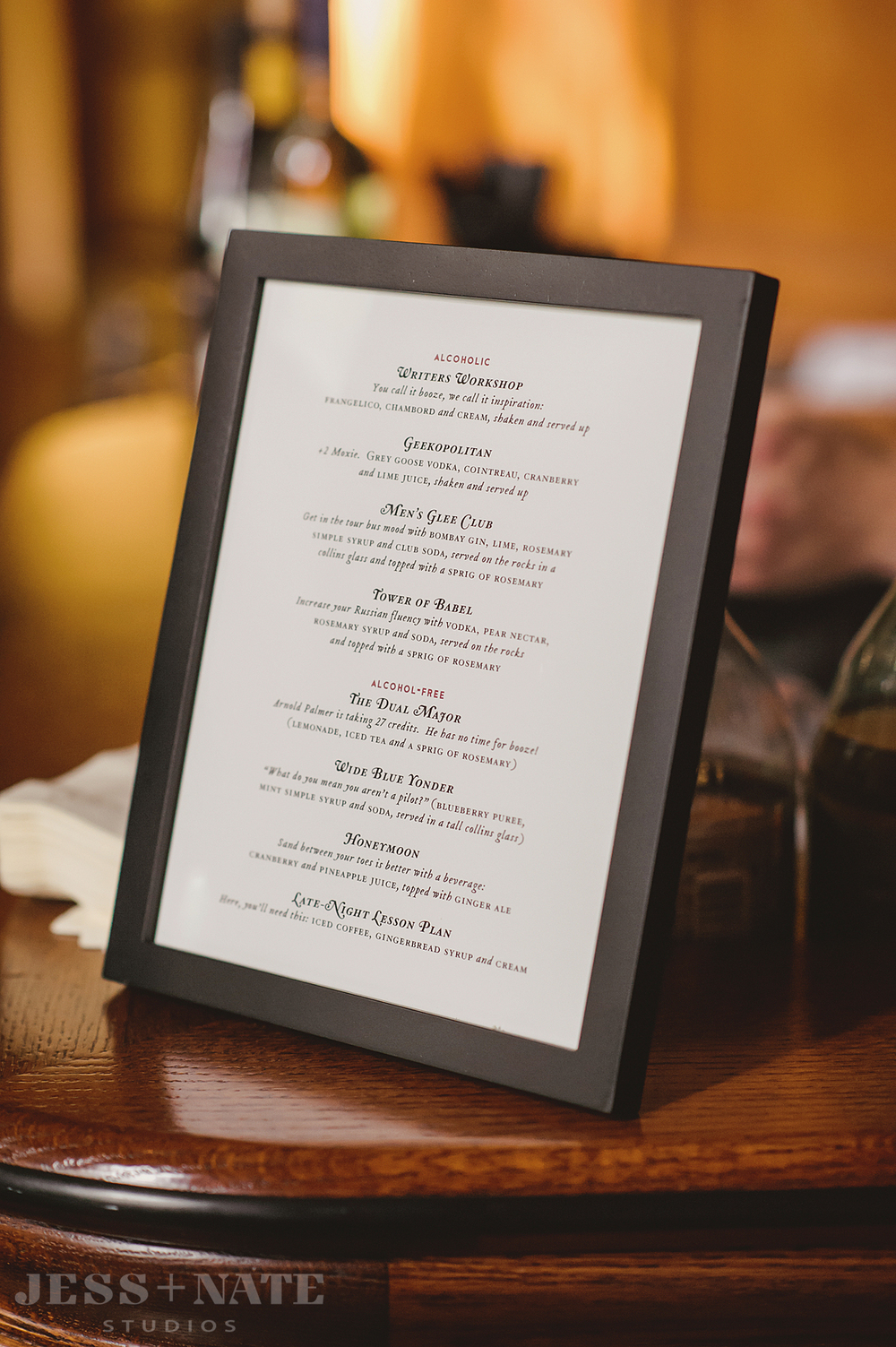 literay_wedding_cocktail_menu