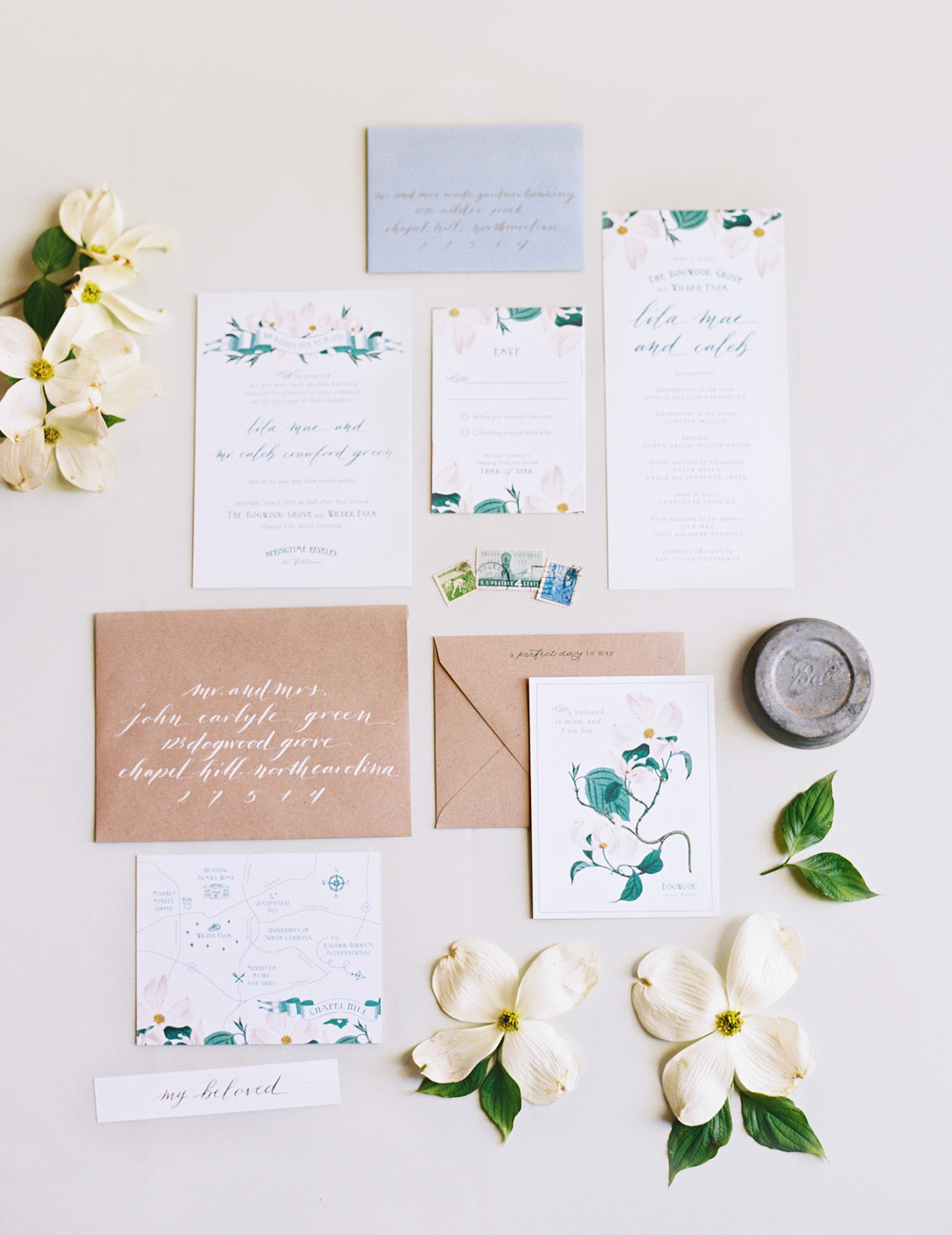 wedding_paper_suite_invitation_design_green_floral