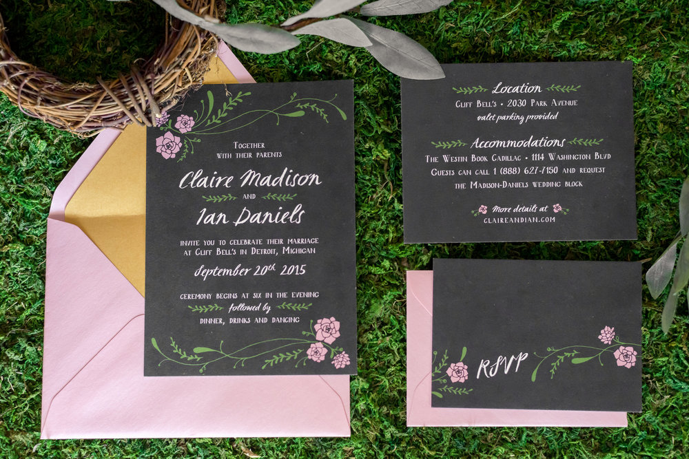 black_botanical_handdrawn_wedding_invitations