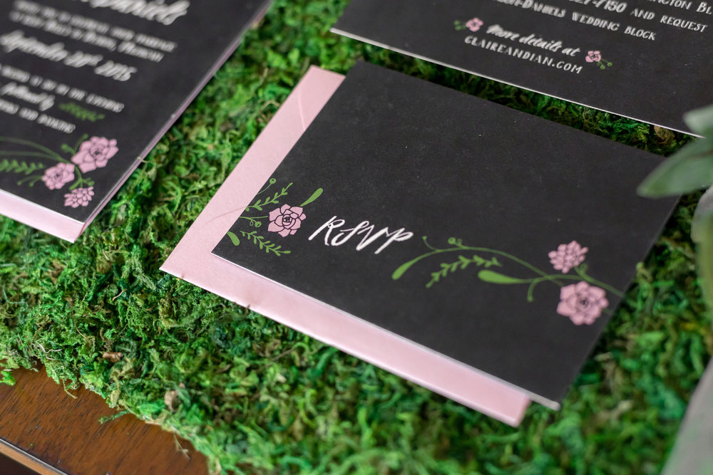 black_green_blush_wedding_stationery