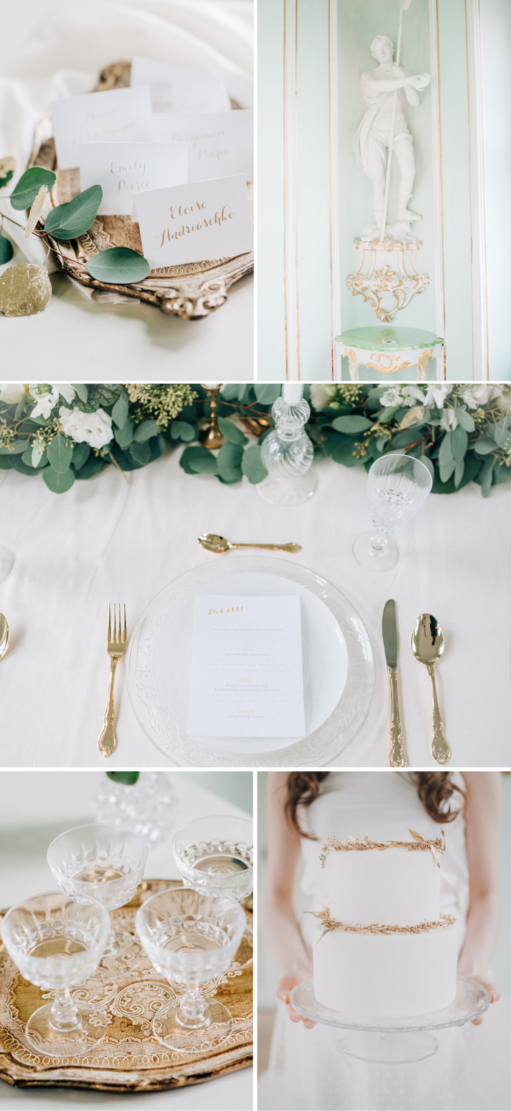 aqua_green_gold_wedding_fairytale_cake_tablescape