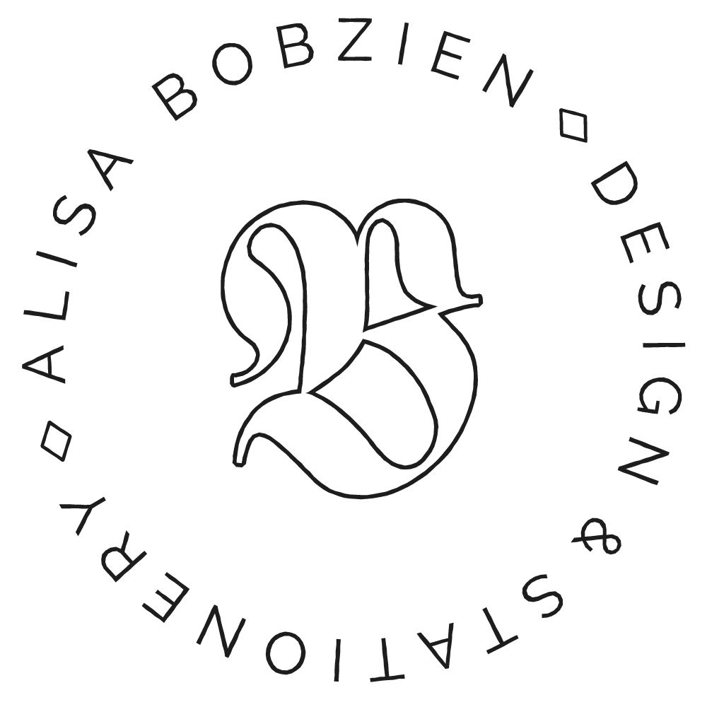 Alisa Bobzien, Design & Stationery Studio