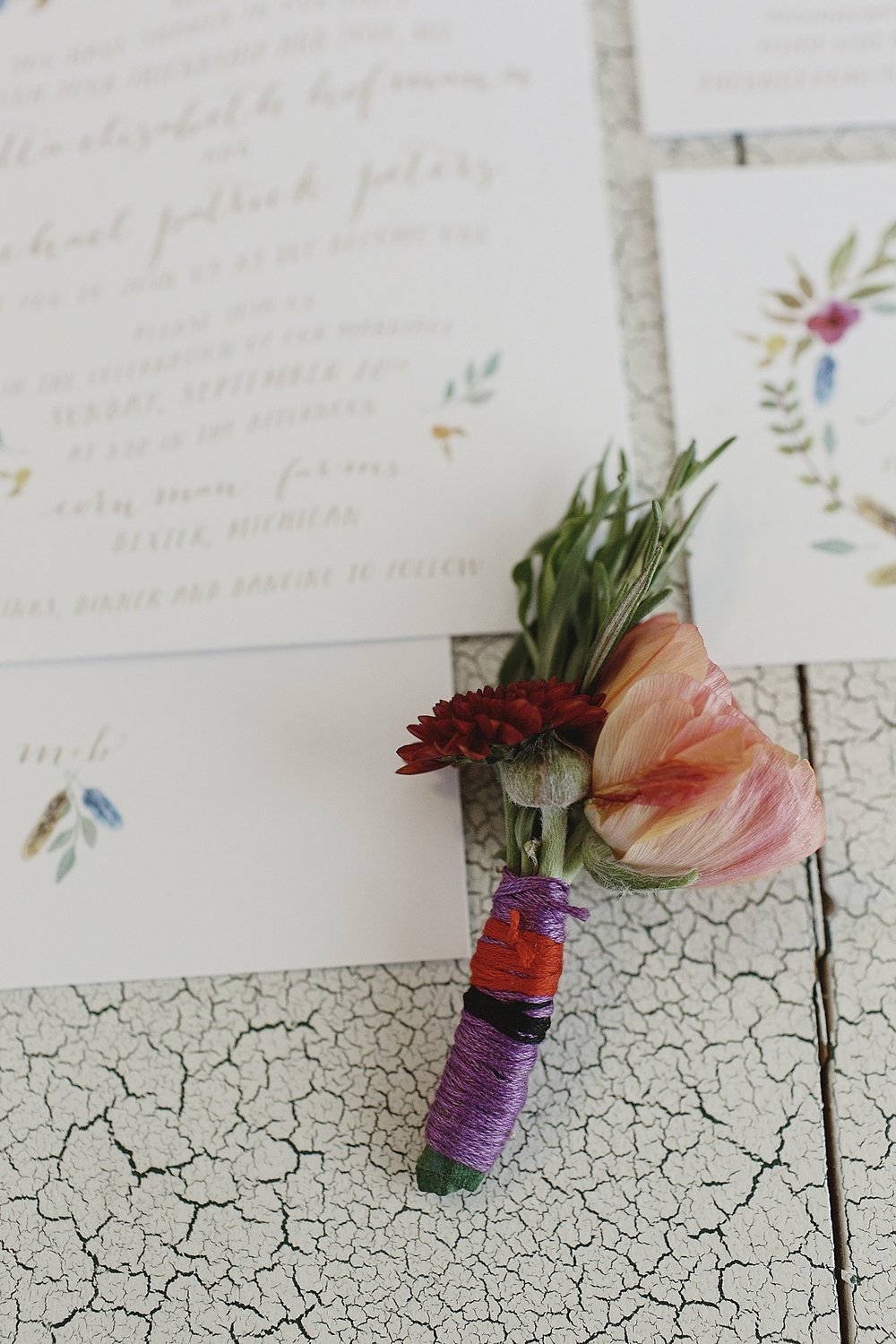 southwest-boho-wedding-boutonniere