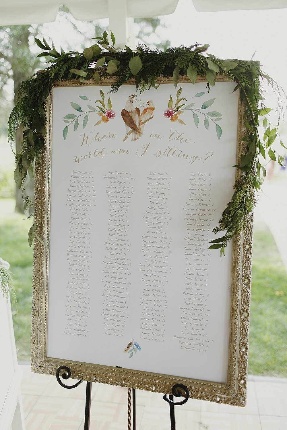 watercolor-seating-chart-garland