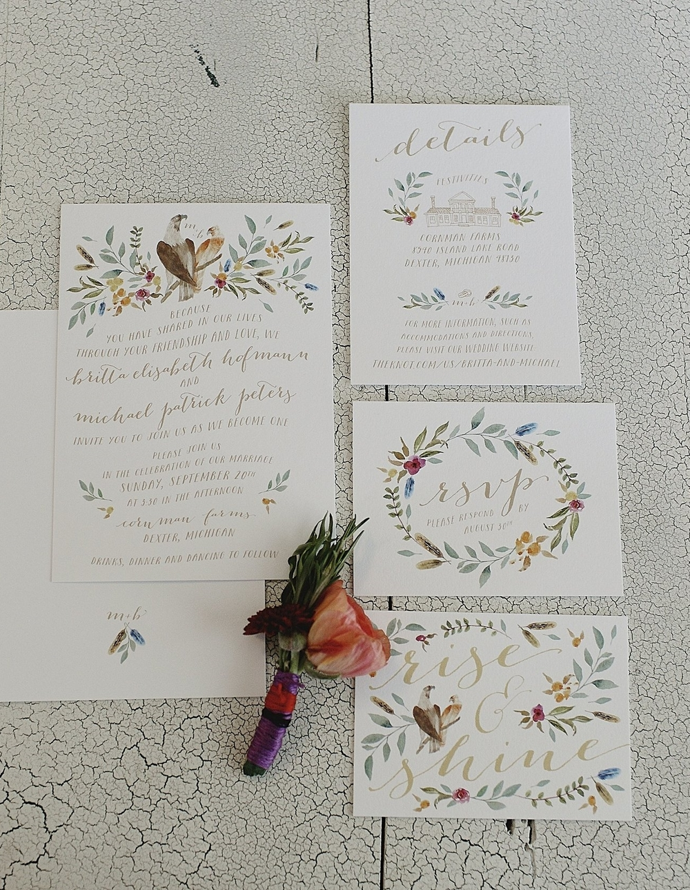 custom-watercolor-floral-wedding-invitation