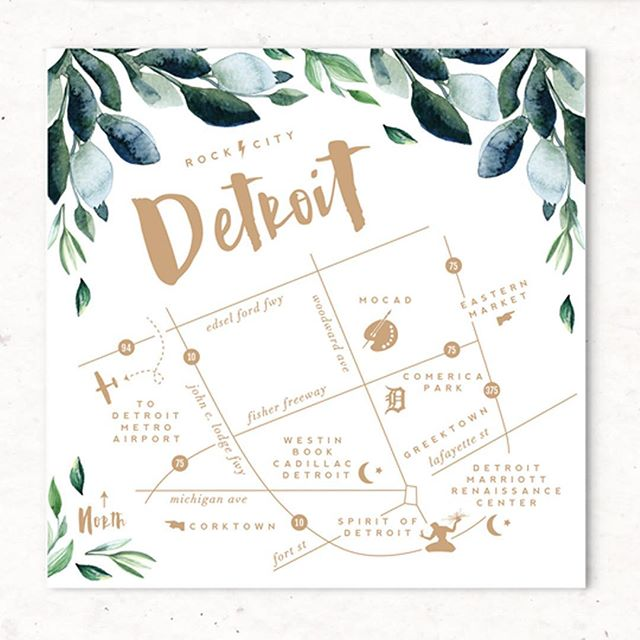 All about those maps. alisabobzien.com/greenery #greeneryabw #weddingmap