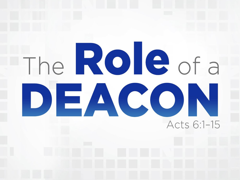 elder and deacon role purpose and 1the responsibilities of elders are derived from to select and train deacons and lay members to from the book of discipline of the united methodist church.