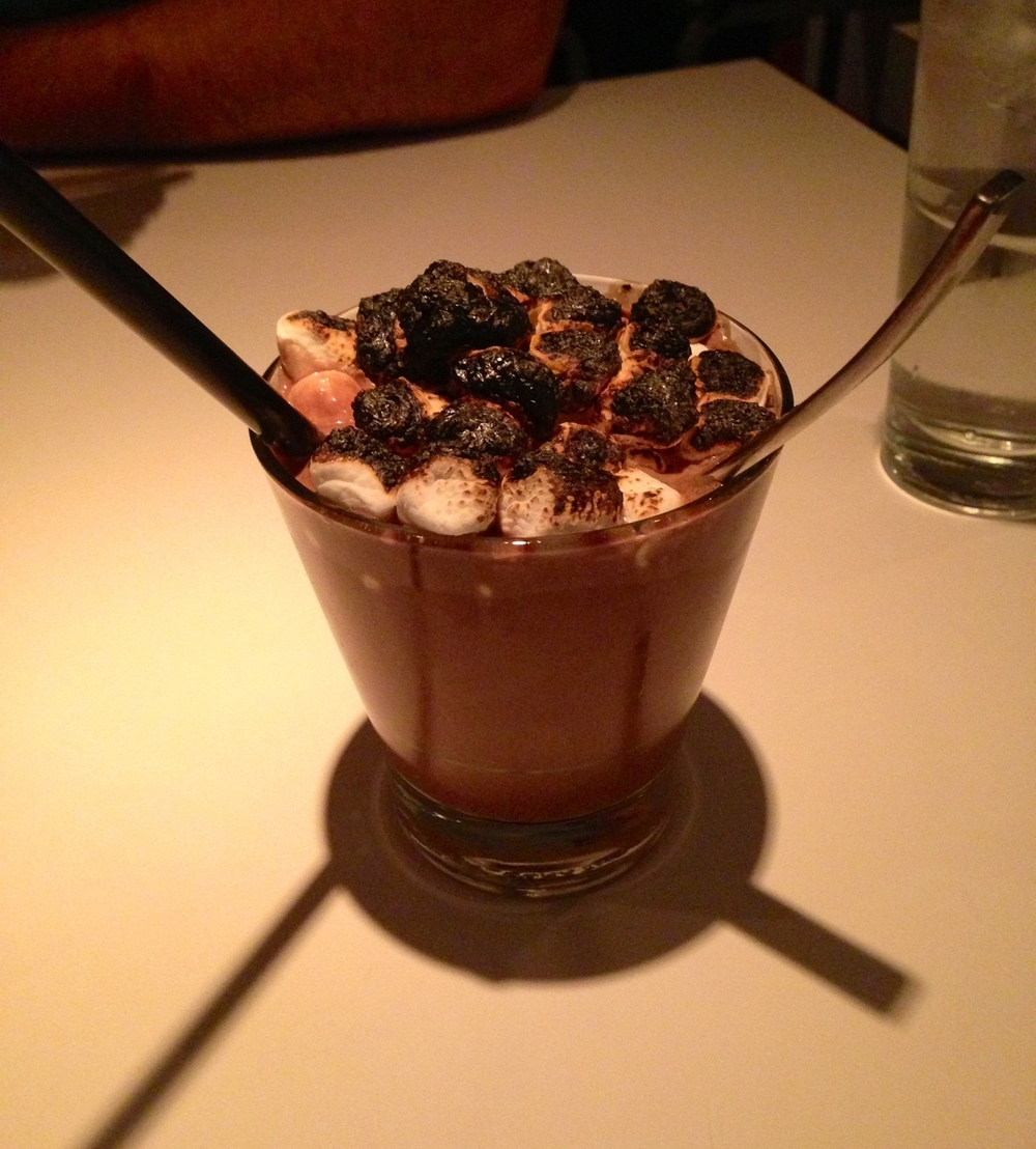 Nutella Milkshake + Burned Marshmallow