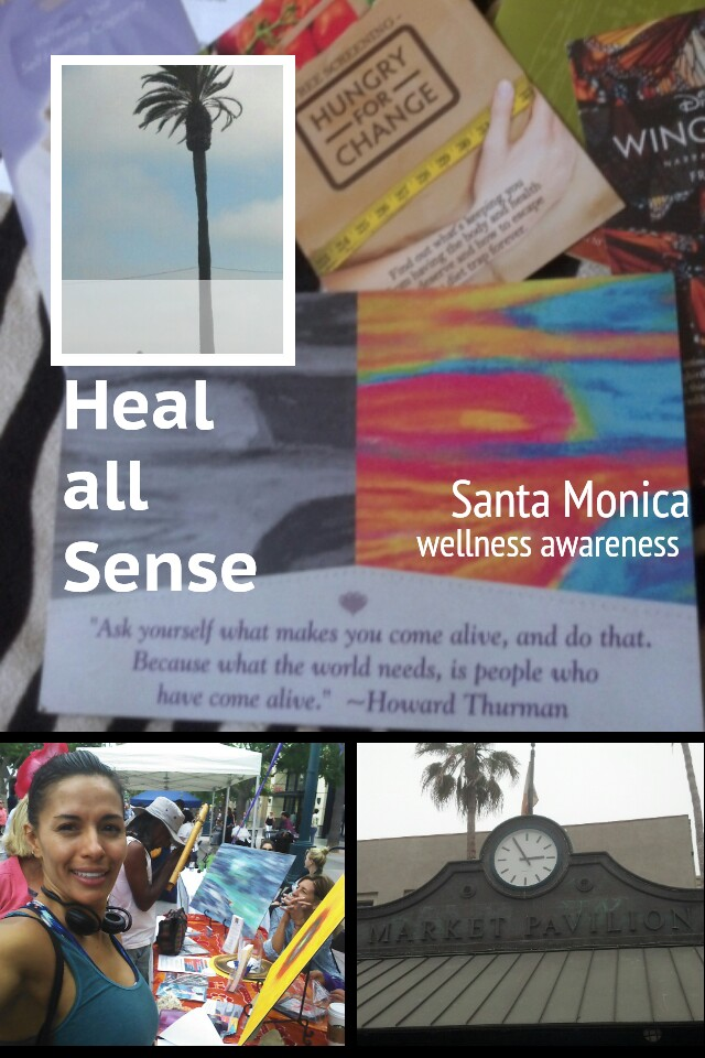 Went to a super cool health awareness activity in Santa Monica, that exposed natural healing options through All senses, arts and visual, sounds, drums and fitness, aromatics, massages, martial arts, harmonics, natural recipes and more!  Was awesome, met people from many backgrounds united with one vision. Healthy and Natural  life style!