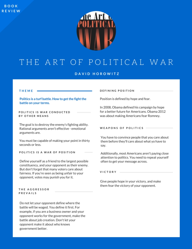 the-art-of-political-war_horowitz