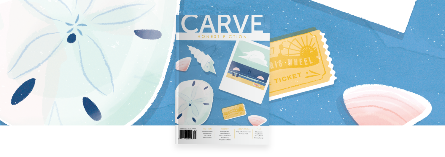 Volunteer — Carve Magazine | HONEST FICTION