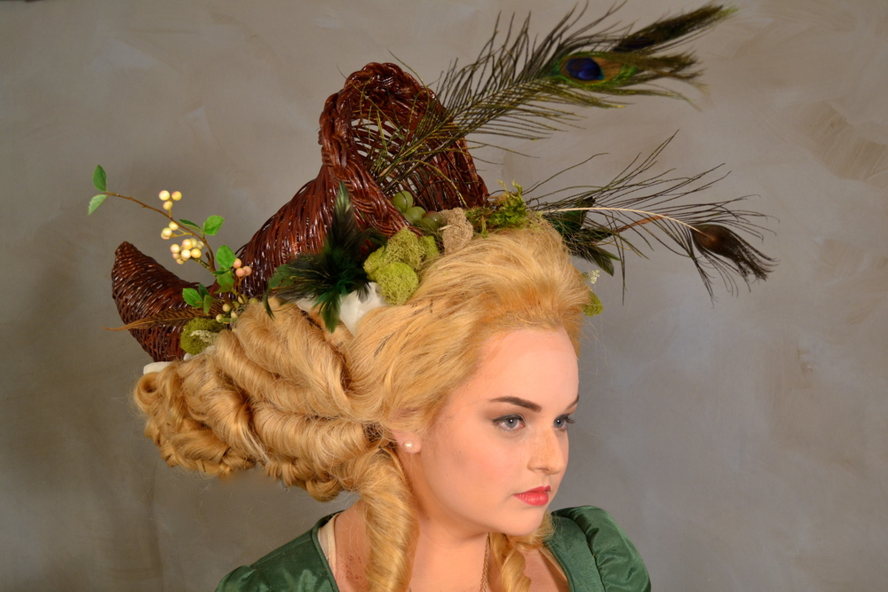 1780's Cage Wig Project