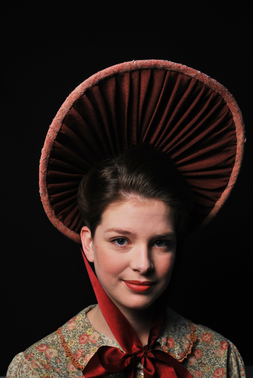 1880's beauty makeup.  Photo: Kai Ravelson